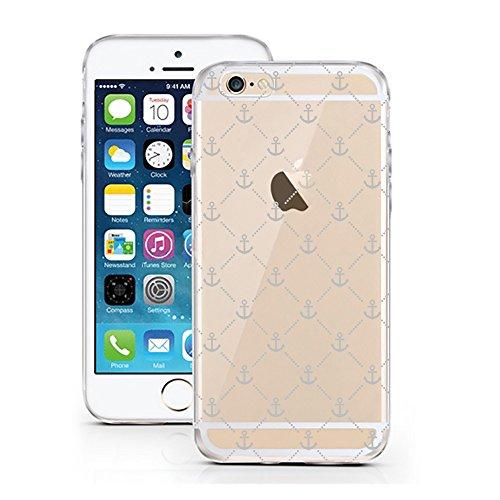 iPhone 5 5S SE Hülle von licaso® für das Apple iPhone 5-SE aus TPU Silikon Anker Schifffahrt Segeln Boot Boat Meer Sea Schiff Captain Kapitän Muster ultra-dünn schützt Dein iPhone 5S & ist stylisch Sc