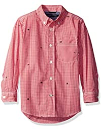 Amazon.com: Pink - Button-Down & Dress Shirts / Clothing: Clothing ...