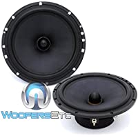 Diamond Audio SX-6V 6.5 120 Watts RMS Mid-Range Speakers Only