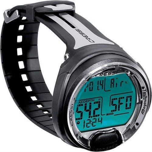Cressi Leonardo Scuba Dive Computer - Wrist (Black/Gray)