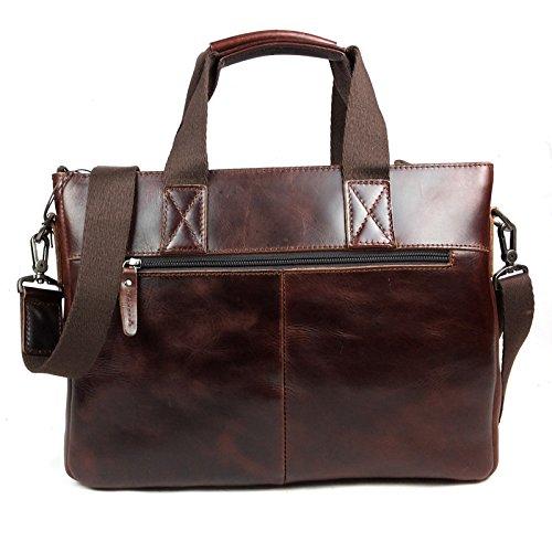 DJB/ Mann Taschen Herren casual Business-Notebook Messenger Tasche Trend übernehmen die erste Schicht Wachs Taschen