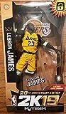 "NBA 2K19 McFarlane Lebron James 7"" Figurine 20th"