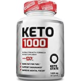 #8: Keto Fat Burner goBHB :: Patented goBHB Beta-Hydroxybutyrate :: Premium Keto Weight Loss Supplement :: Formulated to Burn Fat, Enter Perfect Ketosis, Enhance Mental Focus & Clarity :: 60 VCaps