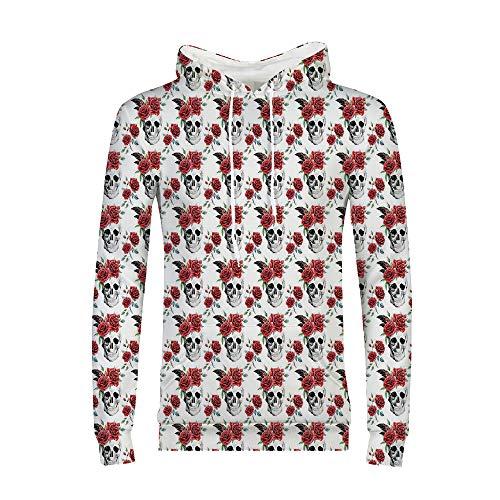 Hoodies for Men Pullover Active Lightweight Sweatshirt with