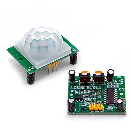 Ociodual HCSR501 Modulo Sensor de Movimiento PIR HC-SR501 para Arduino Detector LHI778