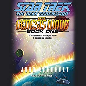 Star Trek, The Next Generation: The Genesis Wave, Book 1 (Adapted) Hörbuch
