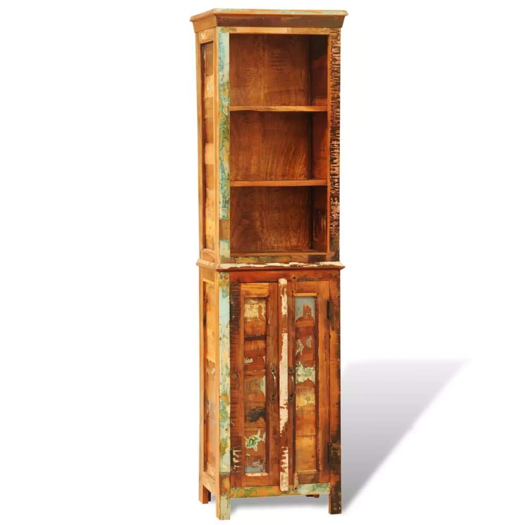 Tuduo Biblioteca in Legno Anticato Solido Stile Vintage Design Elegante e Unico libreria Moderna libreria Design