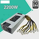 Signstek Power Supply 100-260V Bitcoin Mining PSU 1600W/2200W for Antminer R4/U3/L3+/S9