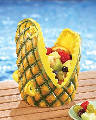 Pineapple Alligator Head Serving Bowl]()