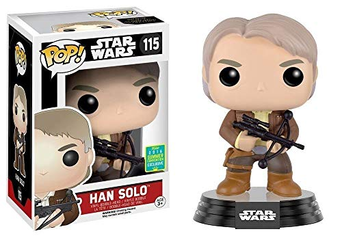 Funko 599386031 - Figura Star Wars - han Solo Balle