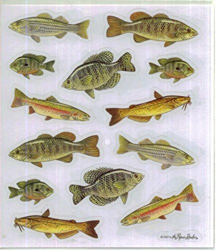 Fish Stickers - 2 Sheets -