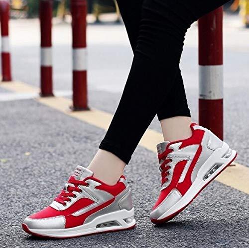Sportive Signore Delle Vulcanized Bianche Piattaforma Ginnastica Casuali Casual Donna Ysfu Donne Da Scarpe 7 Sneaker qOvwIp1g