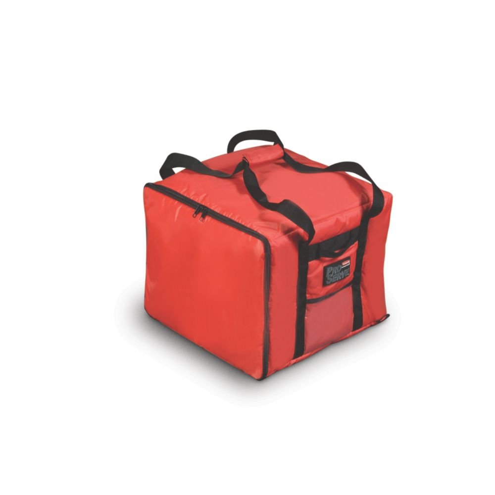 Rubbermaid Commercial Products FG9F3800RED Professional Pizza Catering Delivery Bag Small
