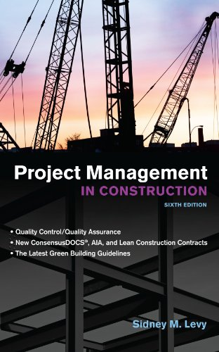 Project Management in Construction, Sixth Edition by McGraw-Hill Education