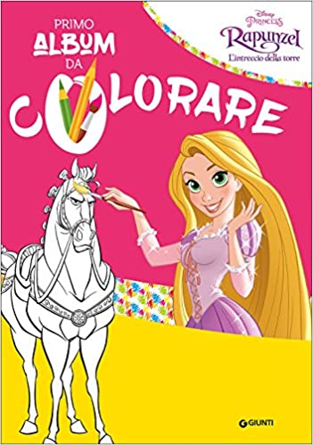Rapunzel Il Mio Primo Album Da Colorare Amazon It Walt Disney