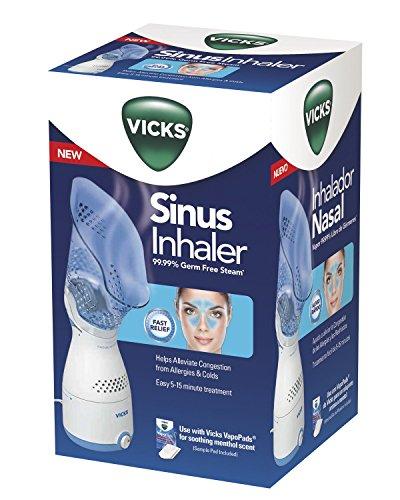 51G1kyN1t1L - Vicks Personal Sinus Steam Inhaler Face Steamer with Soft Face Mask