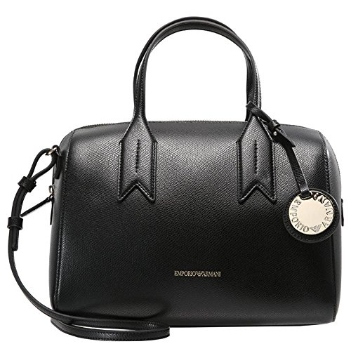 Mujer Handle Twin Negro Armani negro Emporio Handbag 6wq4RxtcH