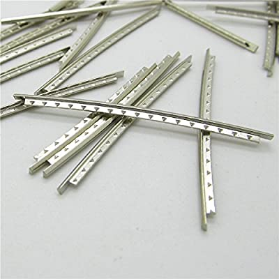Set 21pcs Bass Guitar Frets Copper Fret Wire Fingerboard 2.7mm