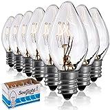 Salt Rock Lamp Bulb 6 Pack + 2 Free 15 Watt
