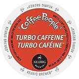 Coffee People Turbo Caffeine Coffee K-Cups, 24 Count