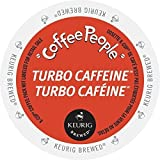 xtreme fuel - Coffee People Turbo Caffeine Coffee K-Cups, 24 Count