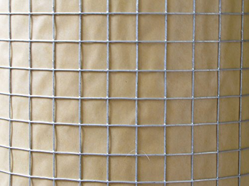 Gophers Limited Double Galvanized Wire Mesh, 18 Gauge, 3/4 Inch Square, 100 Foot X 48 ()