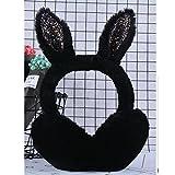 RuYa Winter Earmuffs Cartoon Rabbit Ears Plush Ear Warmer for Women Girls
