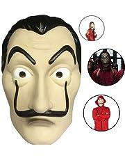 Casa Di Carta Salvador Dalì, Maschera Di PVC Costume Maschera Di Halloween Dali, Per Halloween Festa Di Natale Masquerade Bar Decorazione Festival, Ecc.