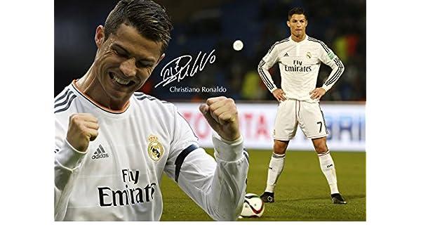 Cristiano Ronaldo #40 - motivación - firmado (copia) A3 poster ...