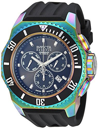 Amazon.com: Invicta Mens Russian Diver Quartz Stainless Steel and Silicone Casual Watch, Color:Black (Model: 25734): Watches