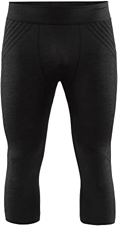 Craft Mens Fuseknit Comfort Base Layer Wicking Half Pant Knicker