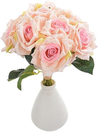 BAI XUE Fleur Artificielle 10 PCS/LOT Fleurs artificielles