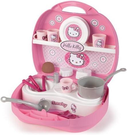 Hello Kitty 24782 - Maletin Mini Cocina (Smoby): Amazon.es ...
