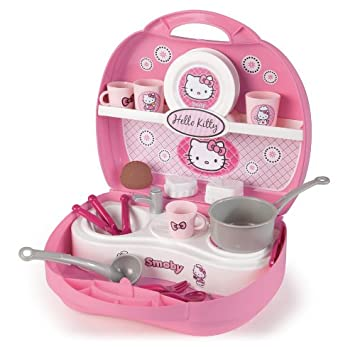 Hello Kitty 24782 - Maletin Mini Cocina (Smoby): Amazon.es: Juguetes ...