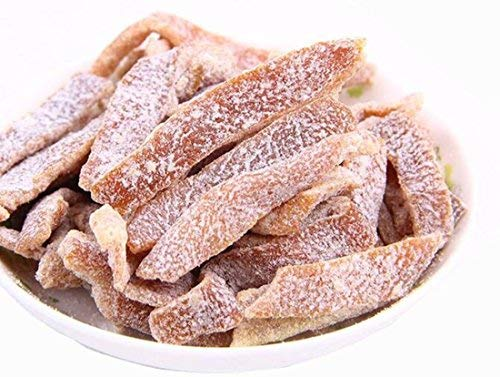 (Guangdong Specialty: Dried Tangerine Peel Preserved Fruit Snowflake Chen Pi 雪花陈皮 150g/5.3oz)