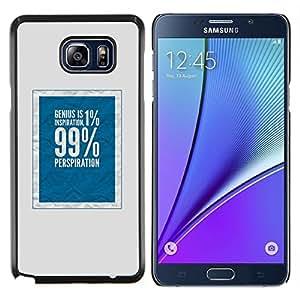 Eason Shop / Premium SLIM PC / Aliminium Casa Carcasa Funda Case Bandera Cover - 99 Rich Justicia Social Azul - For Samsung Galaxy Note 5