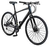 "Schwinn Vantage F3 Men's Flat Bar Road Bike 20.1"" Large Frame Size, Black"