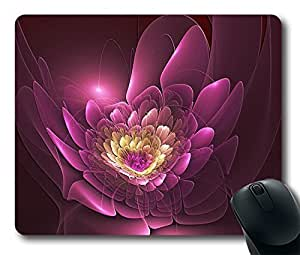 """3D flower Custom Mouse Pad Oblong Comfort Gaming Mousepad Durable Mouse Mat in 220mm*180mm*3mm (9""""*7"""") 0203029 by supermalls"""