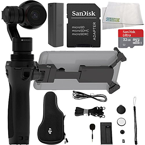 DJI Osmo Handheld 4K Camera and 3-Axis Gimbal Starters Bundle