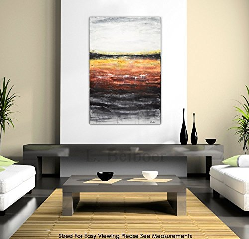 large-original-abstract-acrylic-painting-24-x-36-contemporary-art-red-modern-abstract-painting-inter