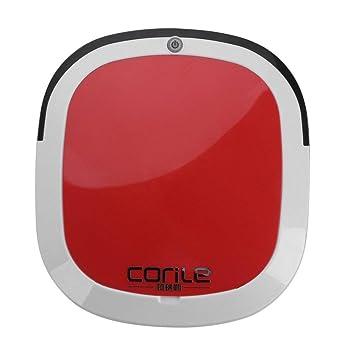 Qwhome Inicio Aspirador Robot Aspirador Automático Recargable Seco-Mojado Eléctrico Ultrafino Robot Inteligente,Red: Amazon.es: Hogar