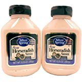Silver Springs Horseradish Sauce, Sassy, 9.5-Ounce (Pack of 2)
