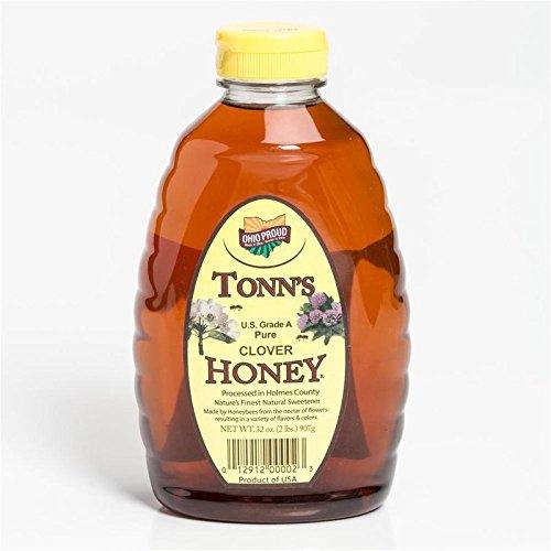 (Tonn's Pure Clover Honey - 32 oz 32 oz Clover)
