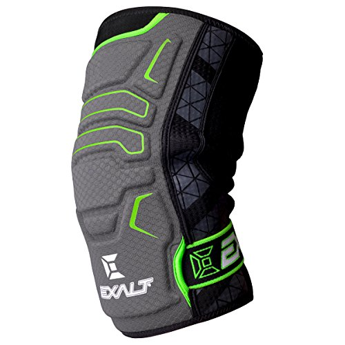 Exalt Paintball FreeFlex Knee Pads - Grey - Small