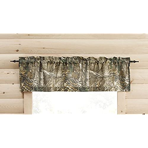 Realtree Xtra Valance, 60inch Wide 14 Inch Long