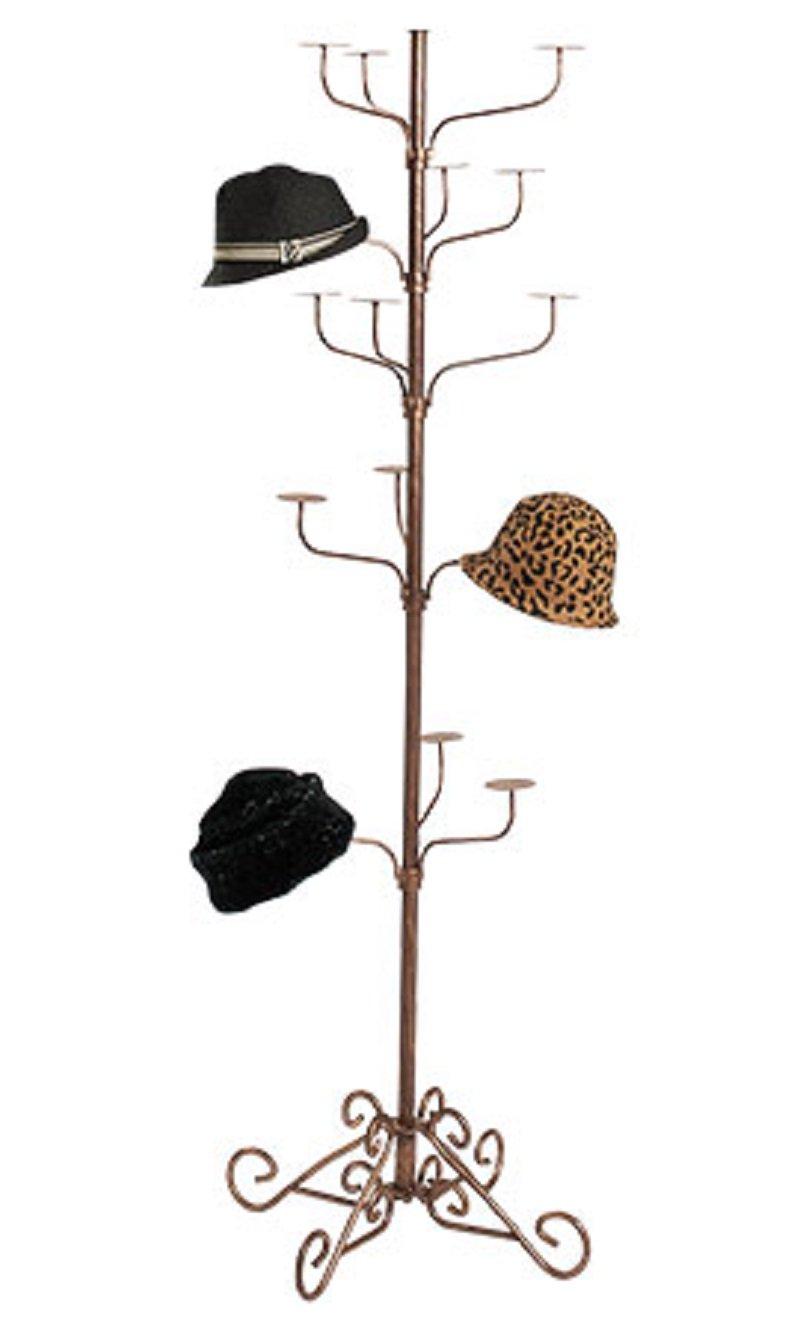 Boutique Cobblestone 5-Tier Hat Display Rack 72''H