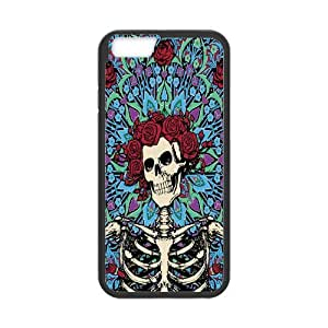 ROBIN YAM Grateful Dead Hard TPU Rubber Coated Phone Case Cover for iPhone 6 4.7
