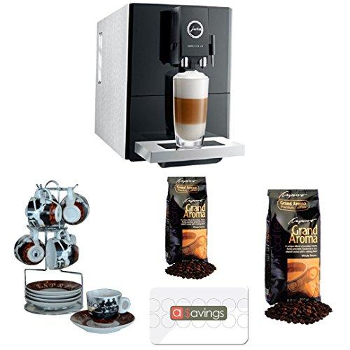 Jura Impressa A9 One-Touch Espresso Machine w/ Cup/Saucer Set & Accessory Bundle