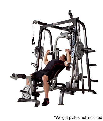 Marcy Smith Cage Workout Machine Total Body Training Home Gym System With Linear Bearing MD 9010G
