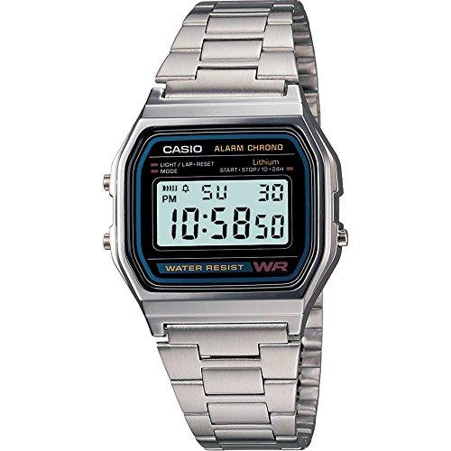Relógio Unissex Casio A158Wa 1Df Digital